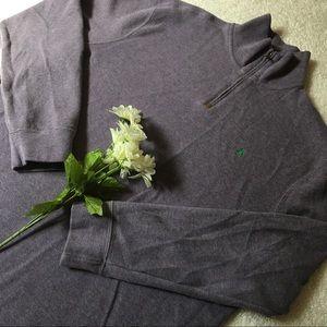 Lavender quarter zip Ralph Lauren pullover sweater
